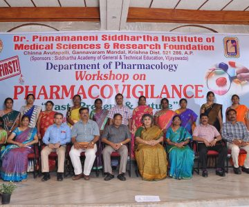 "Workshop on PHARMACOVIGILANCE ""Past,Present & Future"""